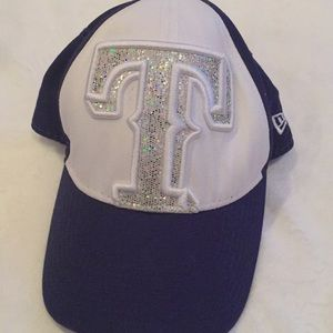 Texas Rangers Bedazzled Youth Cap